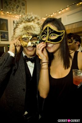 amanda slavin in Annual Blacktie Christmas Masquerade