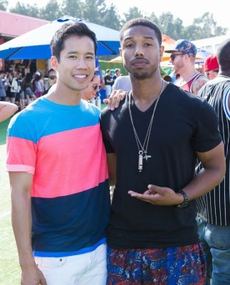 michael b.-jordan in Just Jared's Summer Kick-Off Party Presented By McDonald's