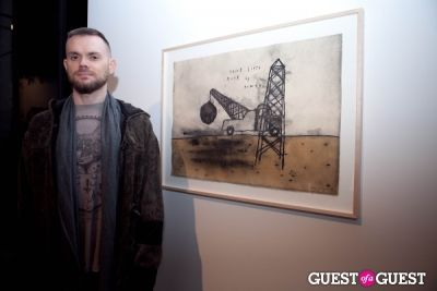 jared gold in David Lynch 'Naming' Opening Reception
