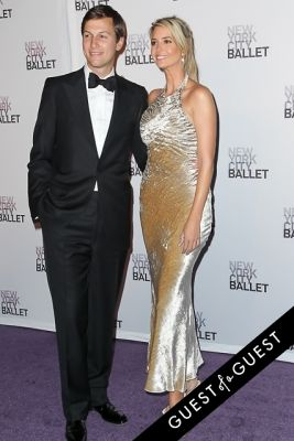 ivanka trump in NYC Ballet Fall Gala 2014