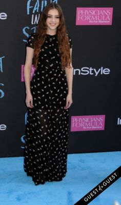 birdy in The Fault In Our Stars Premiere