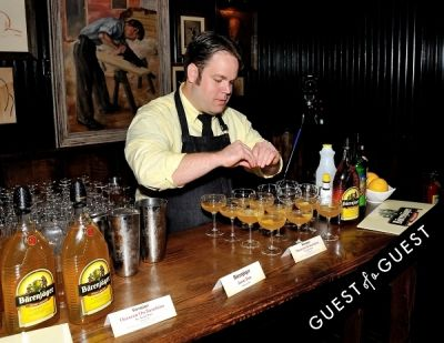 jason patz in Barenjager's 5th Annual Bartender Competition