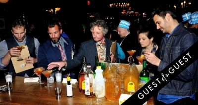 andrew knowlton in Barenjager's 5th Annual Bartender Competition