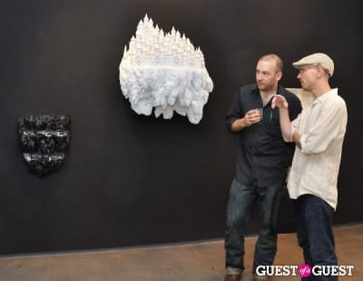 keith schweitzer in Ronald Ventura: A Thousand Islands opening at Tyler Rollins Gallery