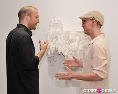 jason voegele in Ronald Ventura: A Thousand Islands opening at Tyler Rollins Gallery