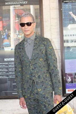 jay manuel in NYFW Style From the Tents: Street Style Day 1