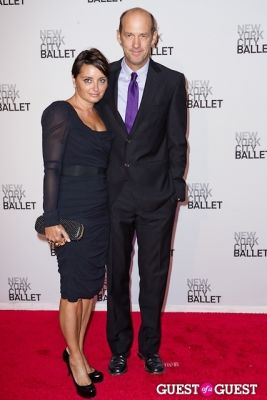 anthony edwards in New York City Ballet's Fall Gala
