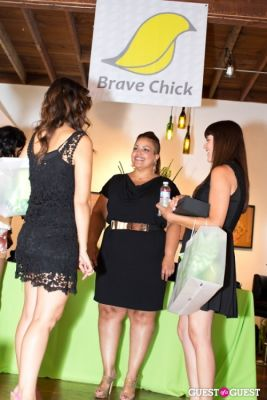 stacey steffe in Brave Chick B.E.A.M. Award Fashion and Beauty Brunch