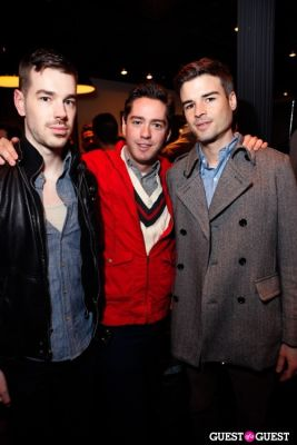jeff dorsman in Onassis Clothing and Refinery29 Gent's Night Out