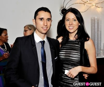 andrea miller in Luxury Listings NYC launch party at Tui Lifestyle Showroom