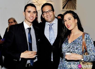 jeffrey znaty in Luxury Listings NYC launch party at Tui Lifestyle Showroom