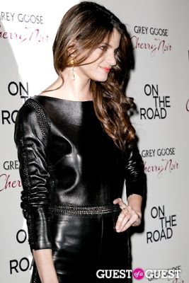 jeisa chiminazzo in NY Premiere of ON THE ROAD