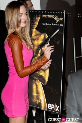 jena sims in EPIX & Vanity Fair Present: Documentary, 50 Years of James Bond