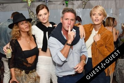 ben watts in Alice + Olivia Montauk Beach BBQ