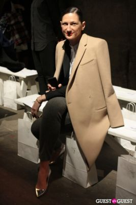 jenna lyons in NYFW 2013: Monday's Street Style From The Tents