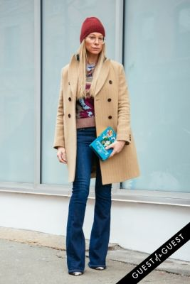 jennifer fisher in NYFW Street Style Day 3