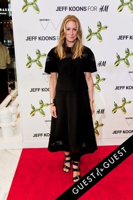 jennifer fisher in Jeff Koons for H&M Launch Party
