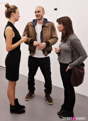 matteao buoncina in Kim Keever opening at Charles Bank Gallery