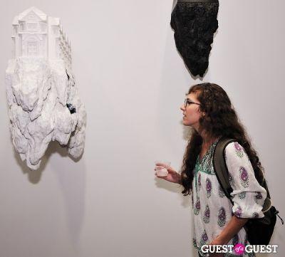 jennifer kachler in Ronald Ventura: A Thousand Islands opening at Tyler Rollins Gallery