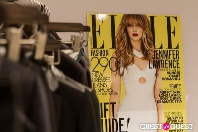 jennifer lawrence in SportMax and ELLE Celebrate the Holidays!