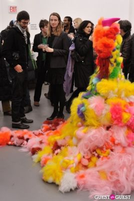 jenny hamblett in Bowry Lane group exhibition opening at Charles Bank Gallery