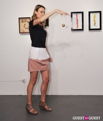 jenny hamblett in Henry Simonds Requiem for the Super Ball at Charles Bank Gallery