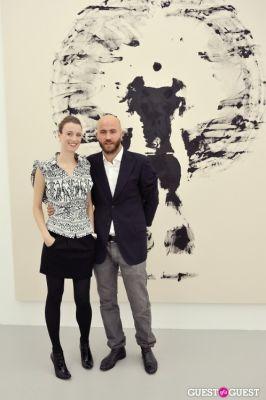 jenny hamblett in Mauro Bonacina exhibition opening reception