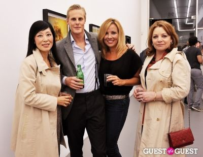 jenny park-adam in Kim Keever opening at Charles Bank Gallery
