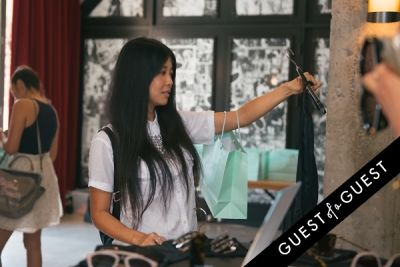 jenny wu in DNA Renewal Skincare Endless Summer Beauty Brunch at Ace Hotel DTLA