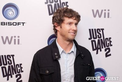 jensen reed in Ubisoft Just Dance 2 Launch Party