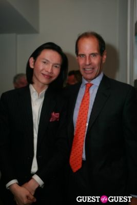 jeremy hu in Dickon Eames An American Sculptor in France Book Launch