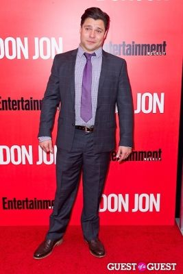 jeremy luke in Don Jon Premiere