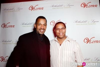 marcus smith in Velour Anniversary Party