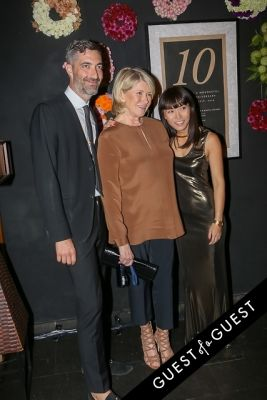 martha stewart in EN Japanese Brasserie 10th Anniversary Celebration