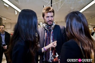 jesse dorsey in BOYY SS14 Launch at Bergdorf's