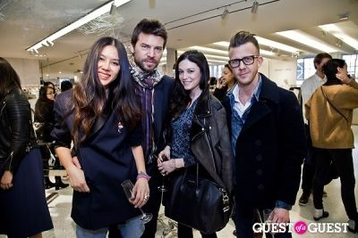 april hennig in BOYY SS14 Launch at Bergdorf's