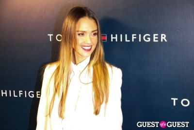 jessica alba in Tommy Hilfiger West Coast Flagship Grand Opening Event