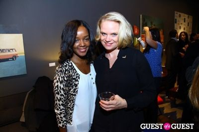 jessica anderson in Cathy Hobbs Mythic Paint Launch Party