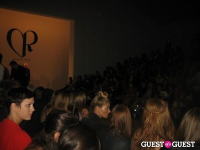 jessica hart in NYFW: Charlotte Ronson Spring 2012
