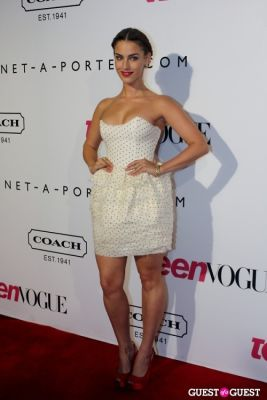 jessica lowndes in 9th Annual Teen Vogue 'Young Hollywood' Party Sponsored by Coach (At Paramount Studios New York City Street Back Lot)