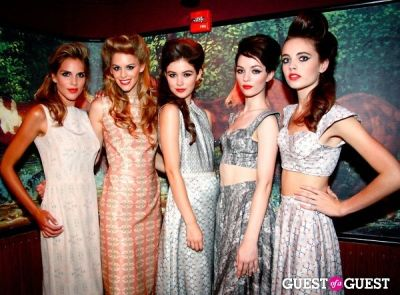 ella from-apm-models in Atelier by The Red Bunny Launch Party