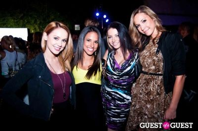 gina mulay in InTouch Weekly's 2012 Icons & Idols VMA After Party