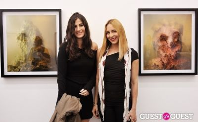 susi kenna in Kim Keever opening at Charles Bank Gallery