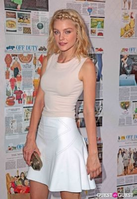 jessica stam in Wall Street Journal Off Duty Party