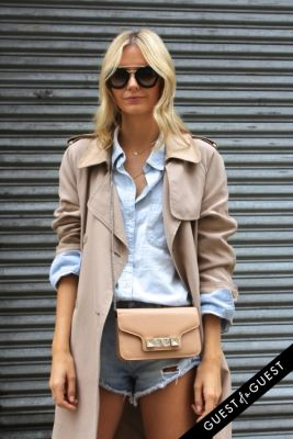 jessica stein in NYFW Style From the Tents: Street Style Day 8