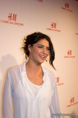 jessica szohr in H&M Introduces The Commes Des Garcon Collection