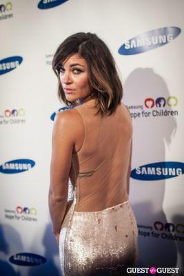 jessica szohr in Samsung Hope For Children Gala 2013