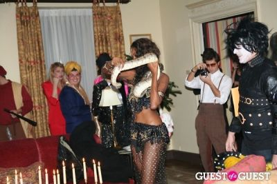 jessica white in Lovecat Magazine Halloween Dinner Hosted by Jessica White and Byrdie Bell