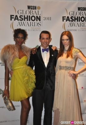 coco rocha in WGSN Global Fashion Awards.