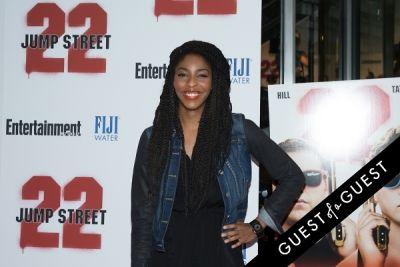 jessica williams in 22 Jump Street Premiere